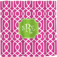 Trellis Personalized Shower Curtain - DESIGN YOUR OWN!
