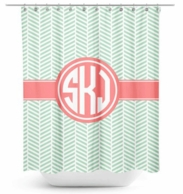 Tweed Personalized Shower Curtain