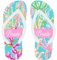 Under The Sea Personalized Flip Flops
