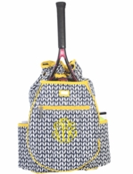 Vine Monogrammed Tennis Backpack