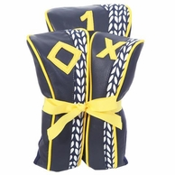 Vine Navy & Yellow Golf Club Head Covers