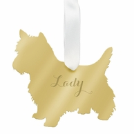 West Highland Terrier Personalized Ornament