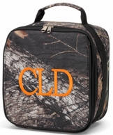 Woods Camo Monogrammed Lunch Tote