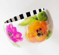 You Think Your Fancy Floral Wood Bangle
