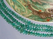 Cabochon Emerald Necklace