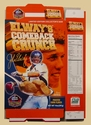 John Elway's Comeback Crunch Limited Edition Cereal Flat
