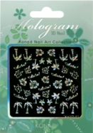 Hologram 3D Nail Sticker 02