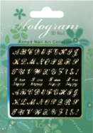 Hologram 3D Nail Sticker 03