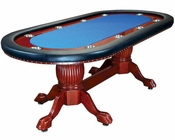 10 Player Double Pedestal Poker Table PT-7705