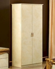 2 Door Wardrobe Gold Baroque Classic Style Made in Italy 33B429