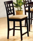 "24"" Height Wheat Back Bar Stool CO-100209 (Set of 2)"