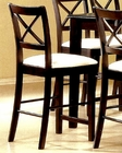 "24"" Seat Height Pub Chair CO-5847 (Set of 2)"