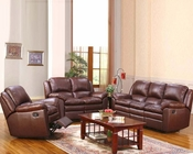 3 pc Living Room Set with Pillow Top Seating MO-CAI