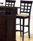 "30"" Height  Wheat Back Bar Stool CO-100210 (Set of 2)"