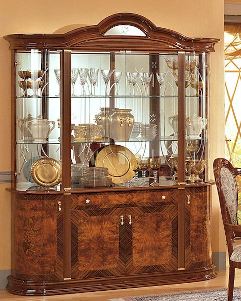 4 Door China Cabinet Minerva European Design Made In Italy 33D38