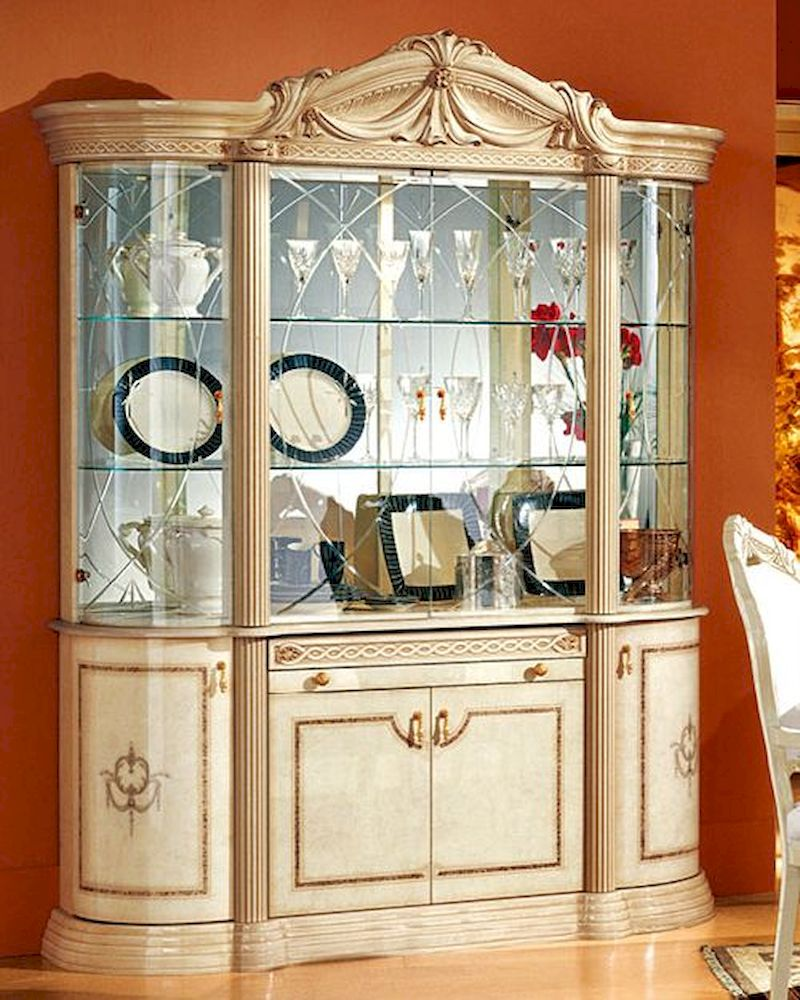4 Door China Cabinet Romana European Design Made in Italy  : 4 door china cabinet romana european design made in italy 33d46 24 from www.homefurnituremart.com size 800 x 1000 jpeg 160kB