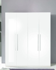 4 Door Wardrobe Blanca in White Modern Style Made in Italy 33B398