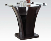 48in Dia Counter Height Table Malik by Acme Furniture AC70510