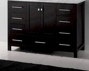 48in Espresso Vanity Caroline Avenue by Virtu USA  VU-GS-50048-CAB-ES