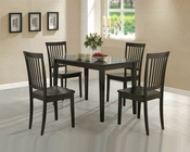 5 PC Dinette Set in Rich Cappuccino CO-150152