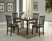 5 PC Dinette Set in Two Tone Finish CO-150153