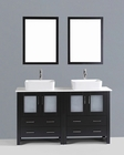 60in Double Rectangular Vessel Sink Vanity by Bosconi BOAB230RC