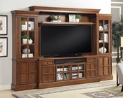 Entertainment Center Wall Unit 62in TV Churchill by Parker House PH-CHU-162-4