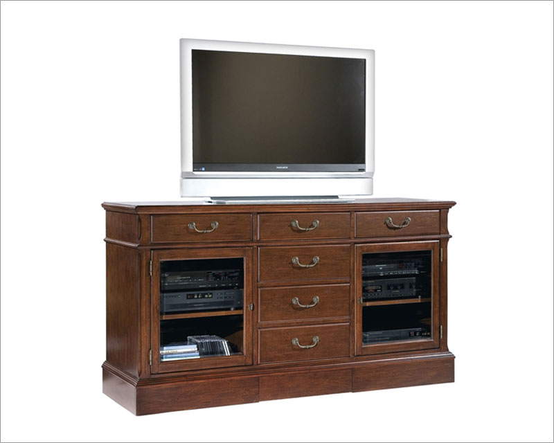 66in Entertainment Console in Cherry Finish by Hekman HE 81541