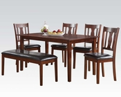 6pc Dining Set Jayden by Acme Furniture AC71735SET