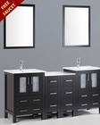 72in Double Integrated Sink Vanity by Bosconi BOAB224U2S