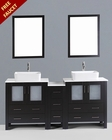 72in Double Rectangular Vessel Sink Vanity by Bosconi BOAB230RC1S
