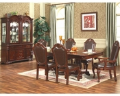7pc Formal Dining Room Set in Classic Cherry MCFD5004
