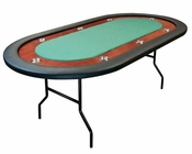 8 Player Poker Table with Folding Legs PT-7701