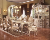 *9pc Formal Dining Set in White MCFRD0018