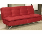 Abbyson Ashton Convertible Sofa AB-55YG-F03-RED