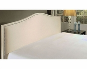 Abbyson Barrington Cream Fabric Queen Platform Bed AB-55AD-6013-QN-CRM