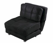 Abbyson Cosmo Convertible Chair Bed AB-55YG-F115-BLK