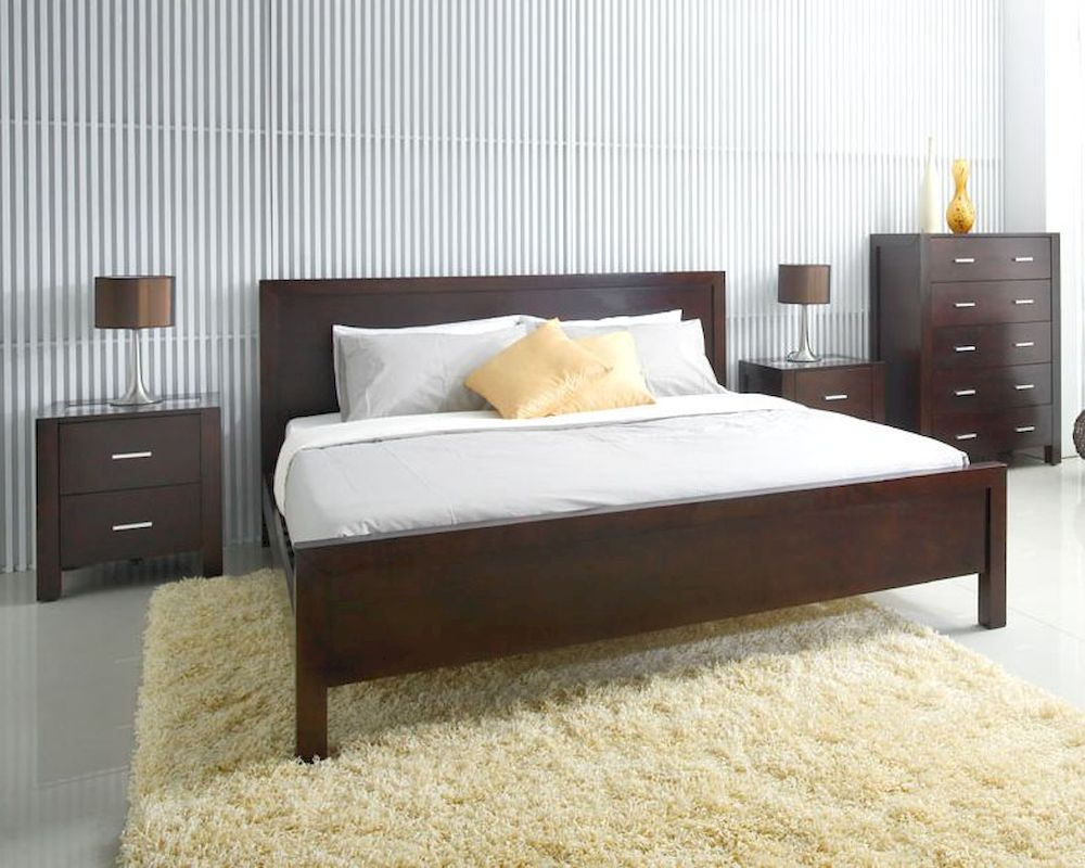 Abbyson Living 4pc Bedroom Set Hamptons Ab 55hm 5000 Qn4