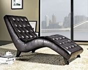 Abbyson Living Leather Lounger Newport AB-55LI-H289-CH