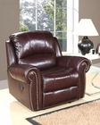 Abbyson Living Reclining Armchair Lexington AB-55CH-8811-BRG-1