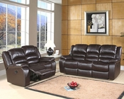 Abbyson Living Reclining Sofa Set Ashlyn AB-55CH-8801-BRN-3-2