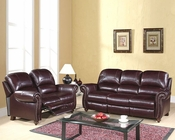 Abbyson Living Reclining Sofa Set Cambridge AB-55CH-8857-BRG-3-2