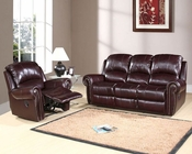 Abbyson Living Reclining Sofa Set Lexington AB-55CH-8811-BRG-3-1