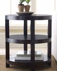 Abbyson Living Round End Table Morgan AB-55FR7000-0230