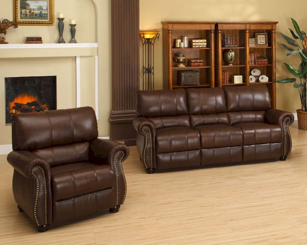Groovy Abbyson Living Leather Sofa Sectional House Beautifull Gmtry Best Dining Table And Chair Ideas Images Gmtryco