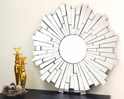 Abbyson London Round Wall Mirror AB-55TM-GC-8133-MIR