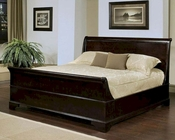 Abbyson Plaza Sleigh  Bed AB-55HM-5050BED