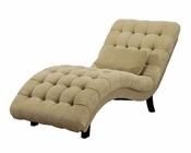 Abbyson Thatcher Fabric Chaise AB-55HS-SF-250-BGE