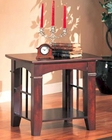 Abernathy End Table with Shelf CO700007