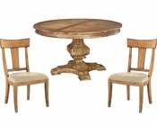 Acacia Round Dining Set Wellington Hall by Hekman HE-23321-SET